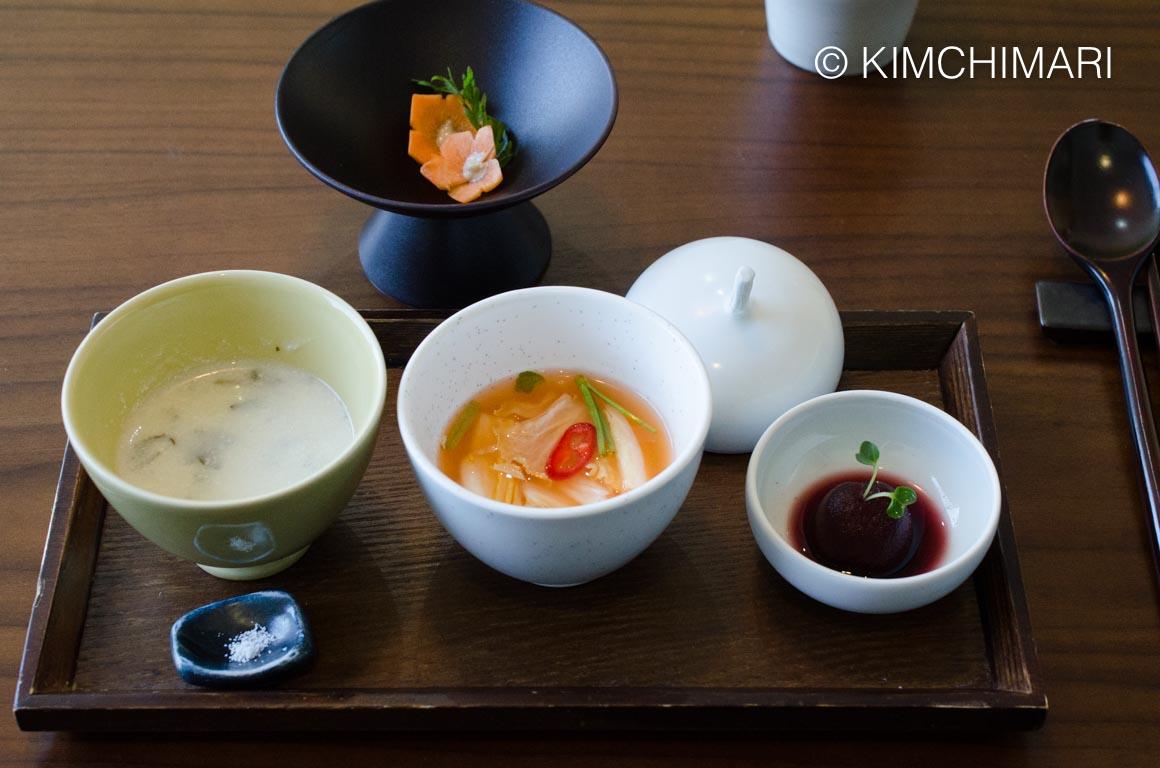 KoreanTempleFood Balwoo Gongyang Appetizer