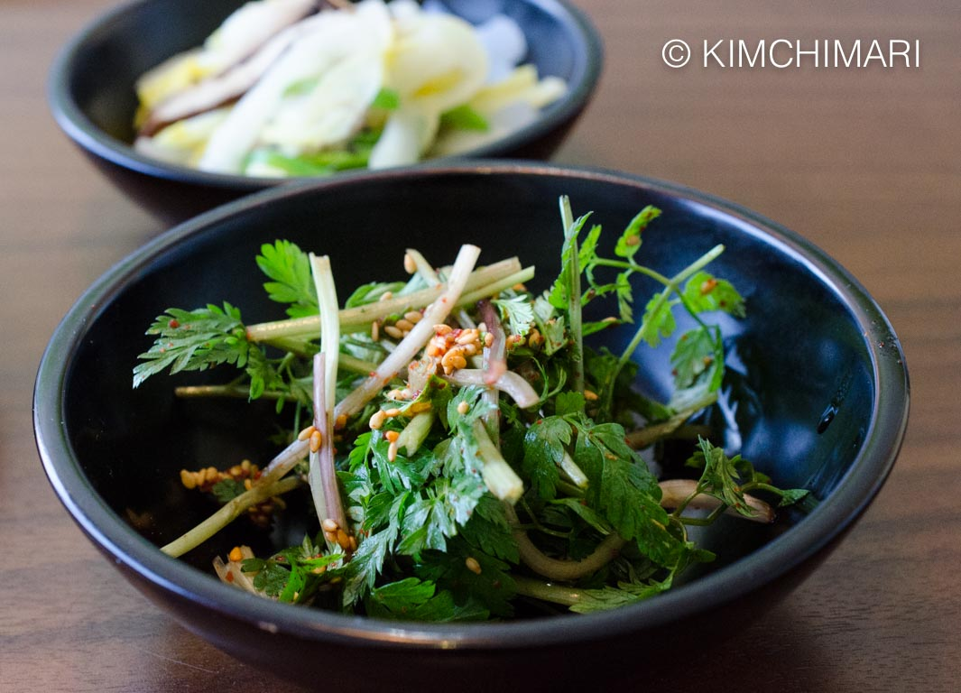 TempleFood Bomnamul Spring Salad