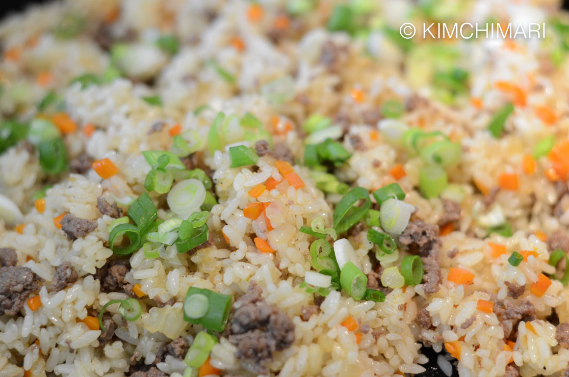 Fried Rice for Omurice
