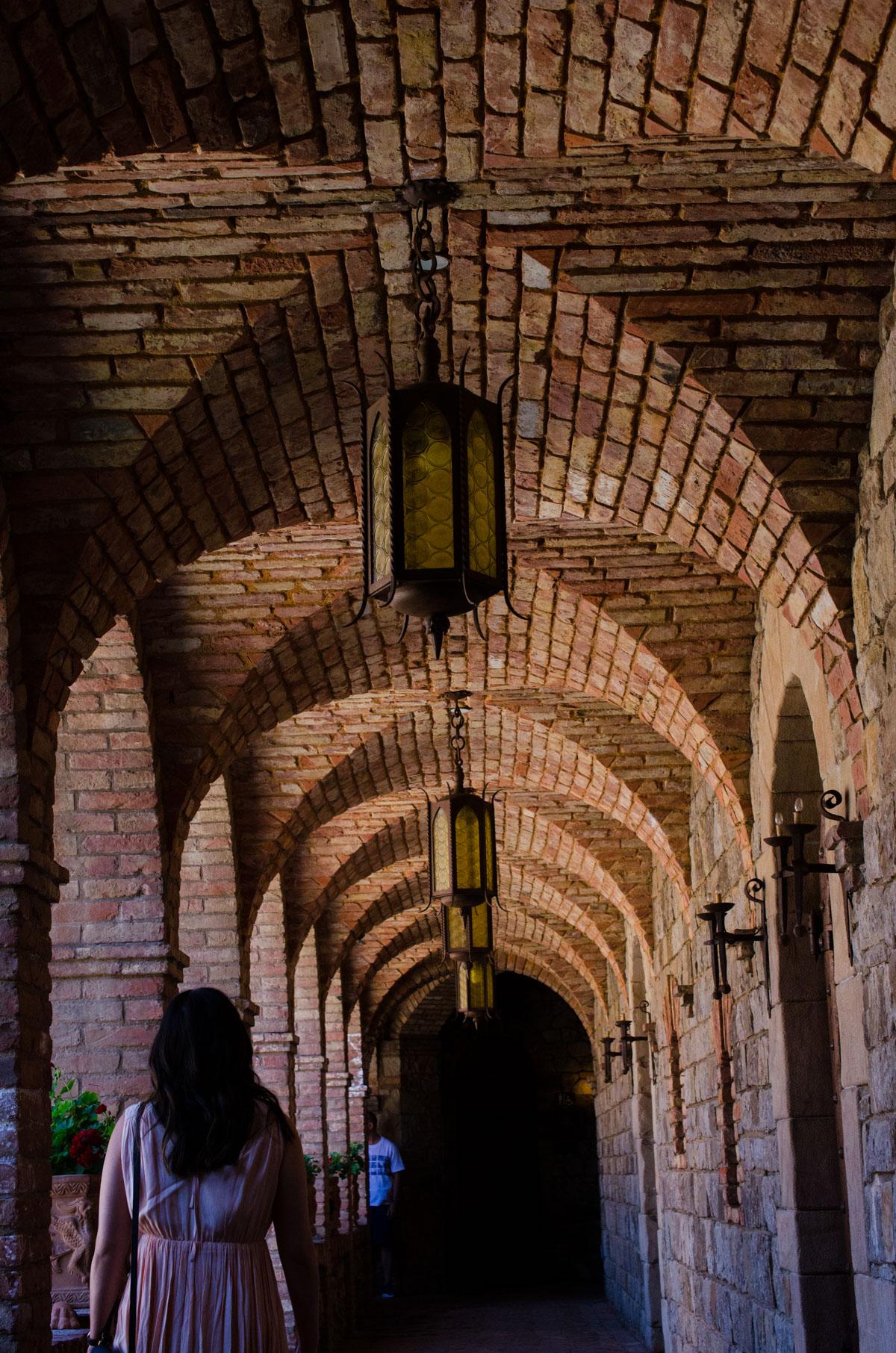 Castello Di Amorosa - Castle halls