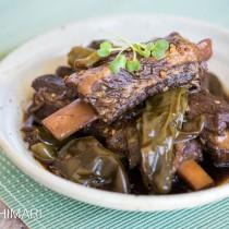 Korean Spicy Soy Pork Galbi Jjim Instant Pot