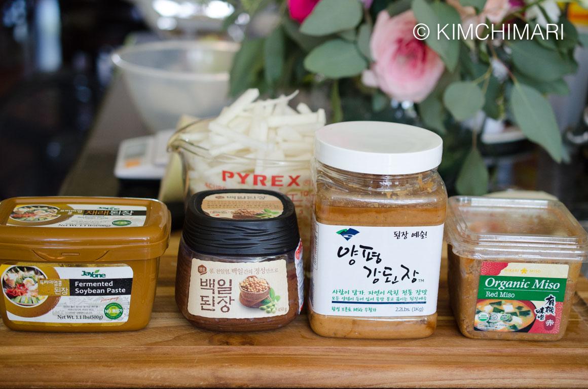 Doenjang SoyBeanPaste for MuGuk Radish Soup