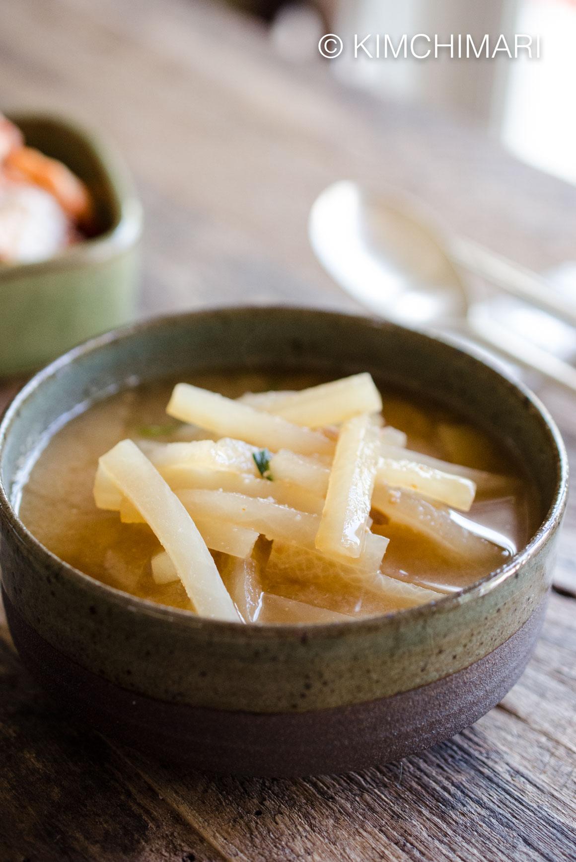 Radish Soup Korean MuGuk
