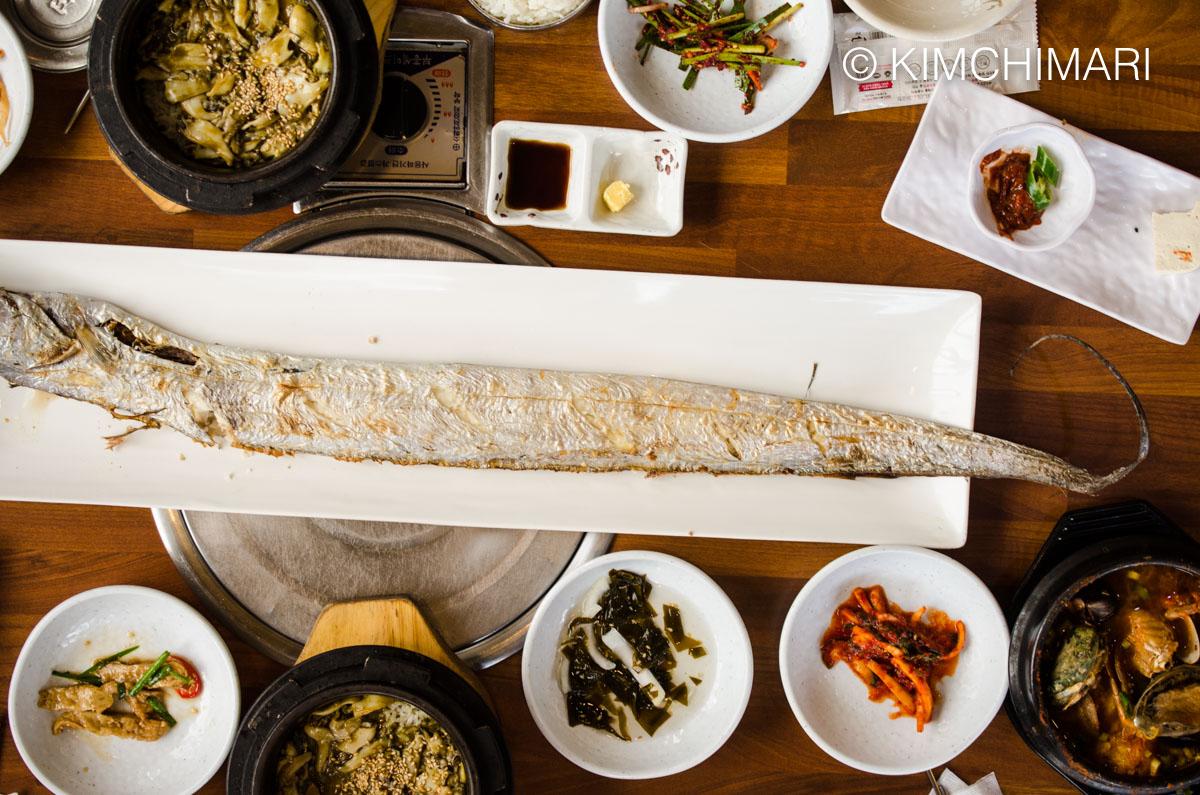 Hairtail Galchi Fish Oseong Shikdang, Jeju
