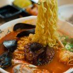 Octopus Jjampong Ramen Sogobe Restaurant, Jeju