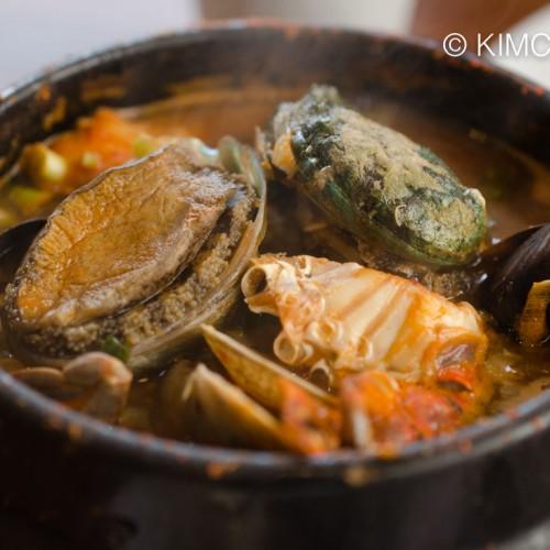 Seafood Deonjang Jjigae at Ohseong 오성칼치식당