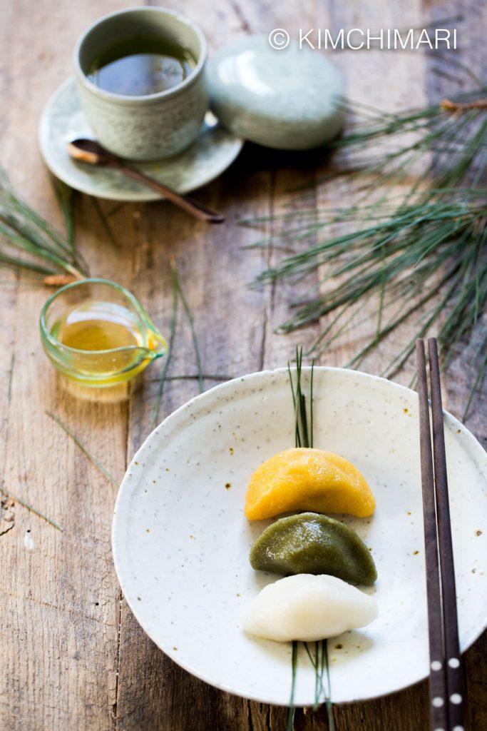 Songpyeon Chuseok Rice Cakes