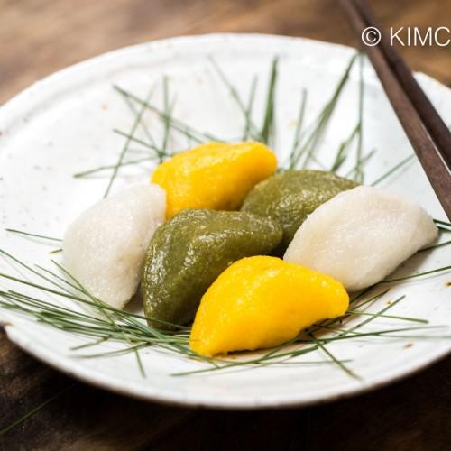 Songpyeon Korean Moon Rice Cake