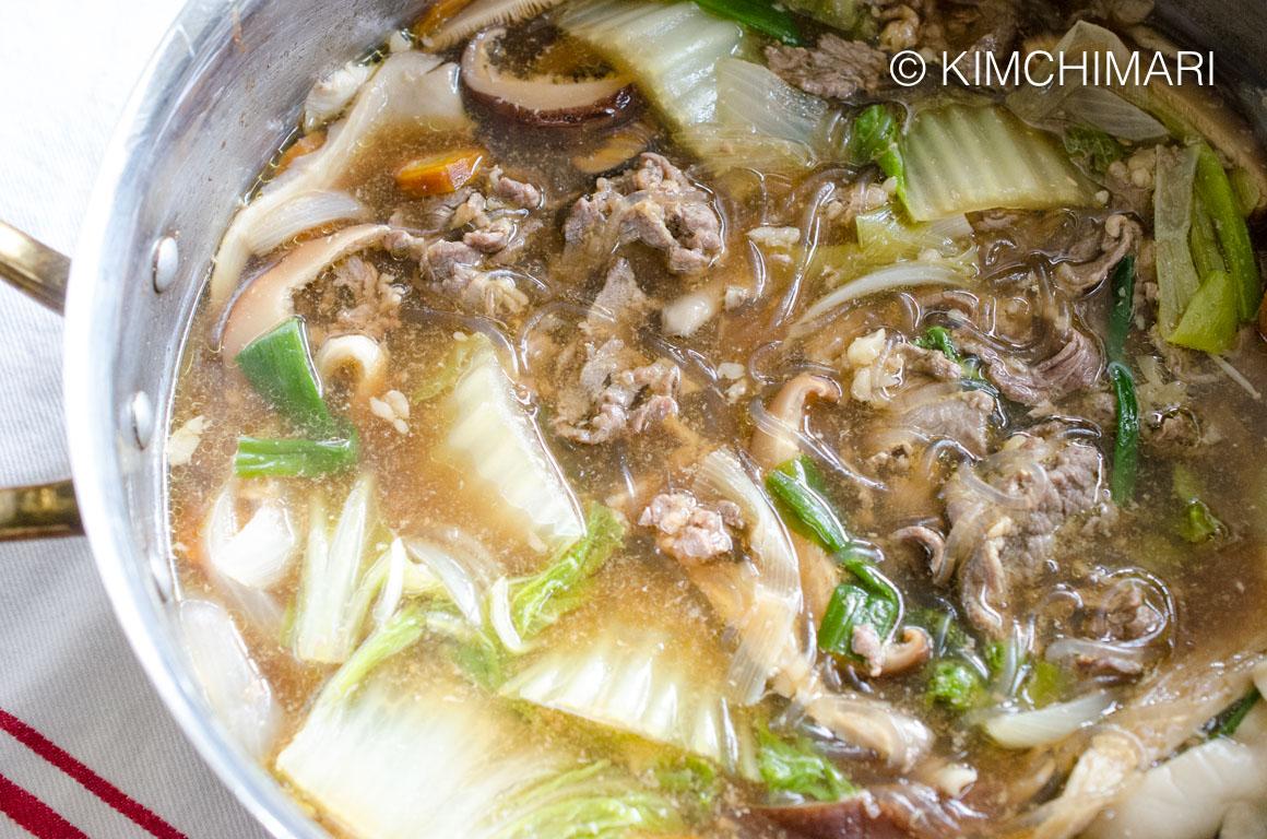 Bulgogi Hot Pot Stew (Korean Jeongol)