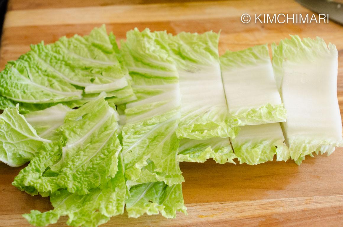 Cabbage for Bulgogi Hot Pot