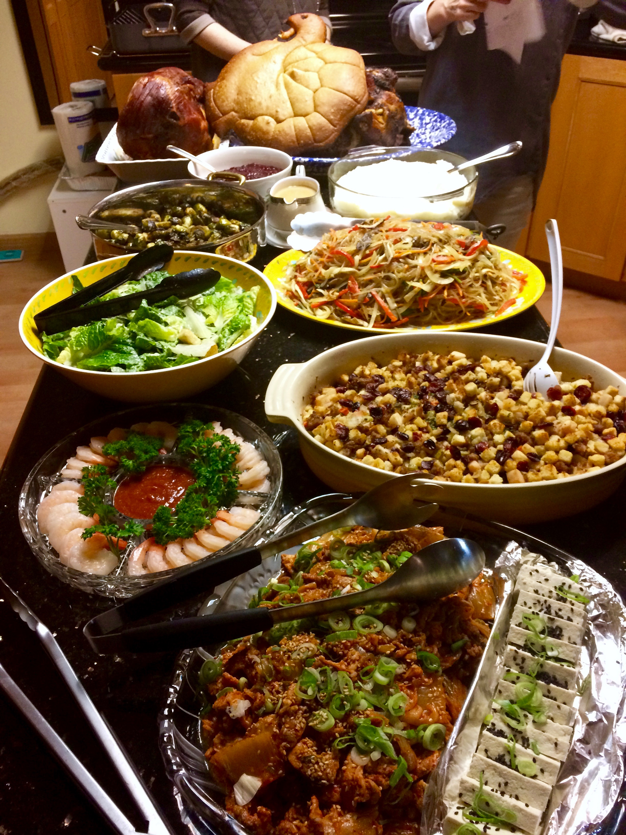 Korean Thanksgiving with Friends