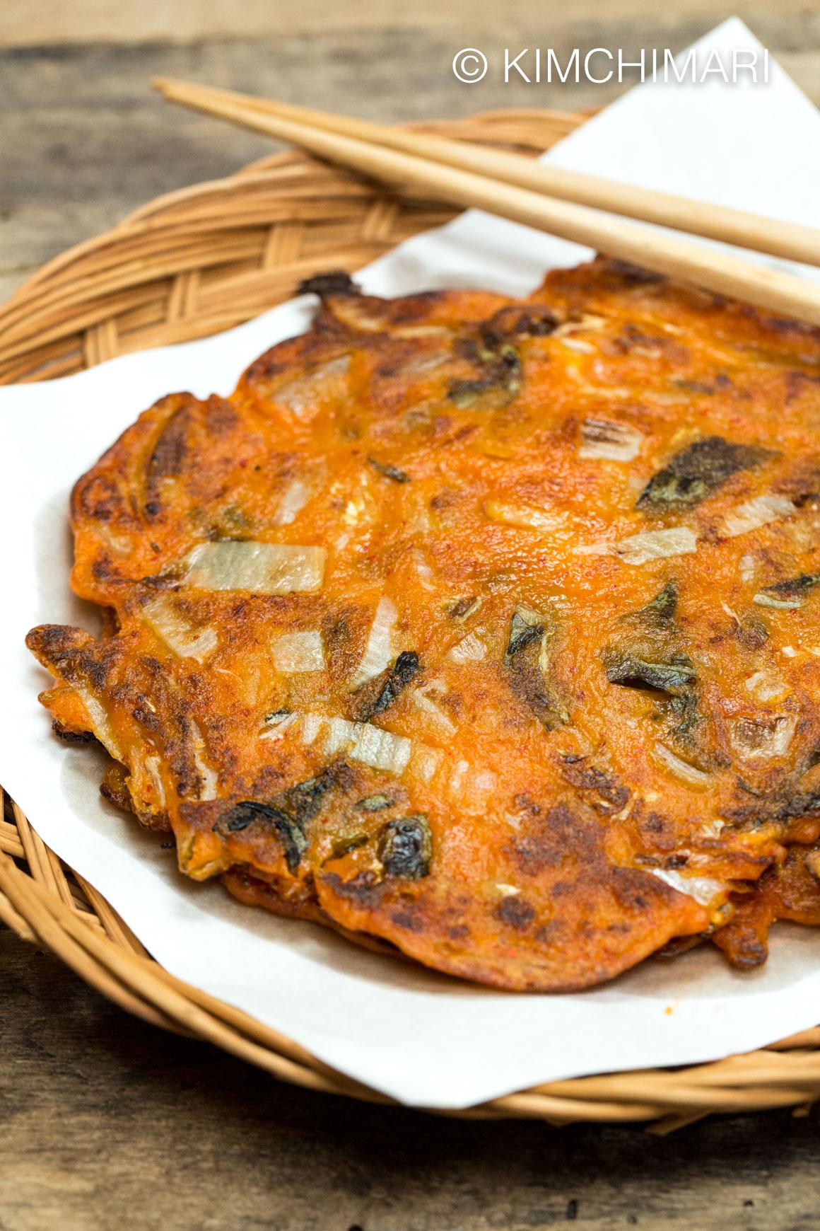 Kimchi Pancake Jeon or Buchimgae