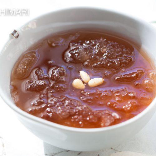 Sujeonggwa Ginger Cinnamon Punch Slushy Frozen Drink