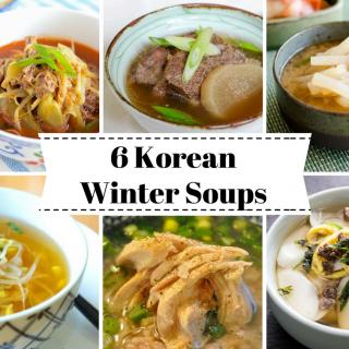 6 Korean Winter Soups