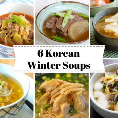 6 Korean Winter Soups