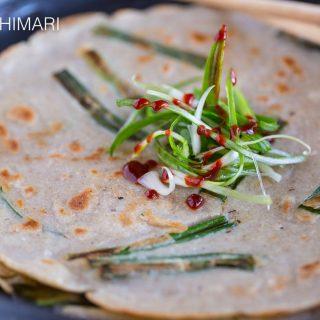 Buckwheat Pancake Korean Memil Jeon Buchim