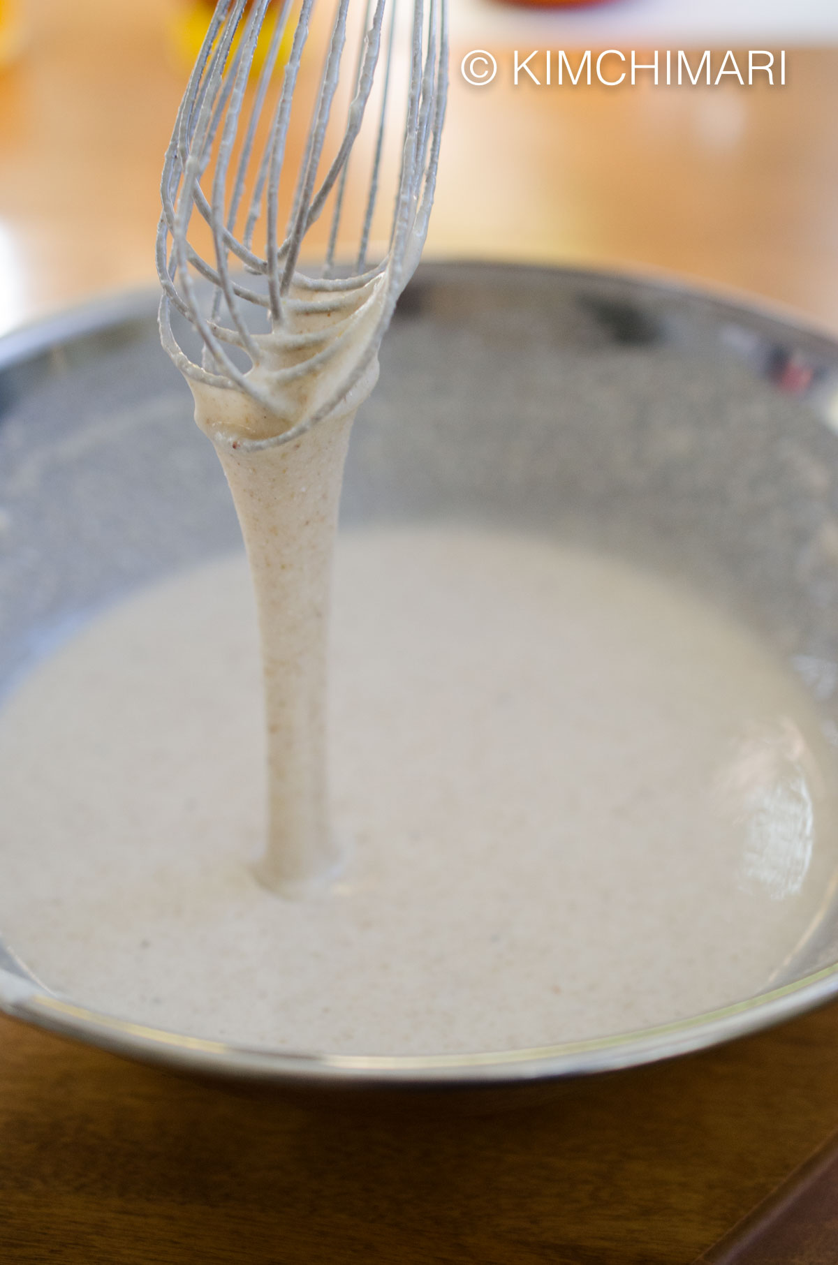 Buckwheat Pancake batter