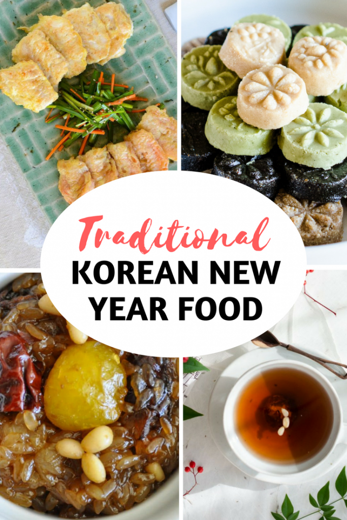 Korean New Year Food - Traditional