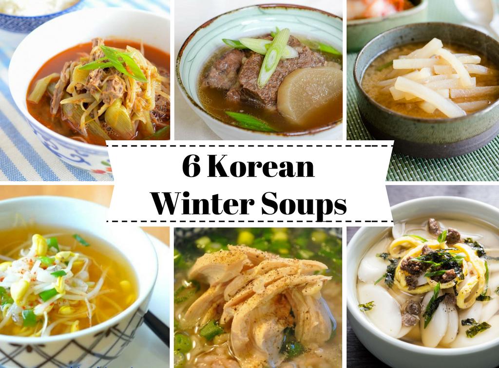 6 Best Korean Winter Soups