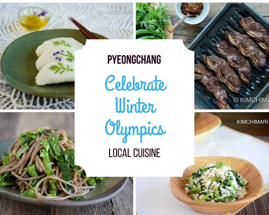 Pyeongchang Local Cuisine to Celebrate WinterOlympics