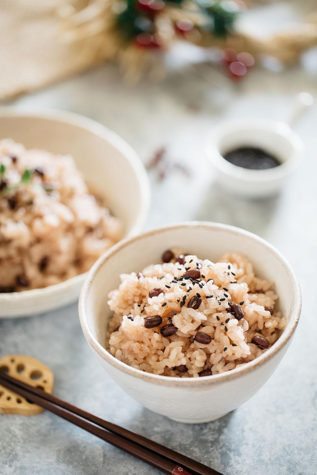 Azuki bean rice