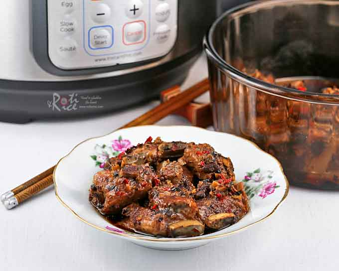 Steamed Pork RIbs with Black Beans