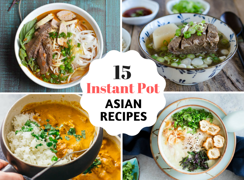 15 Instant Pot Asian Recipes