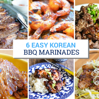 Easy Korean BBQ Marinades
