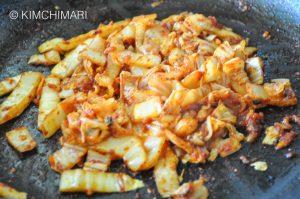 Sauteed Kimchi for Kimchi Fried Rice