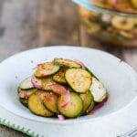 Asian Cucumber Salad - Spicy, Sweet, Tangy without Soy Sauce