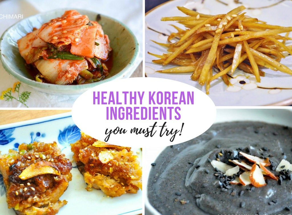 Healthy Korean Ingredients in Easy Recipes