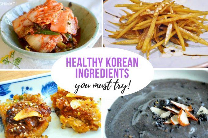 Healthy Korean Ingredients in Easy Recipes