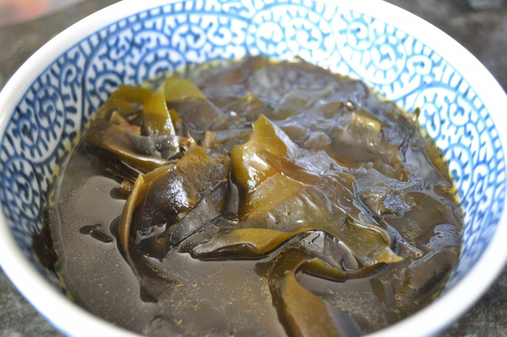 Healthy Korean Ingredients Seaweed Soup