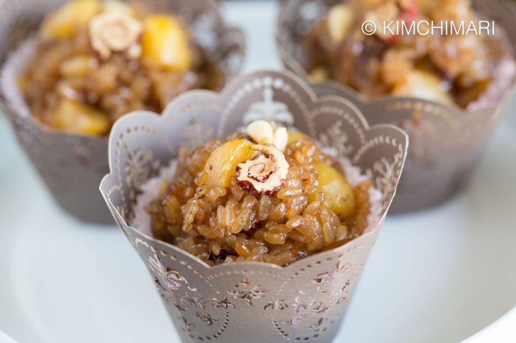 Instant Pot Yaksik - Korean Sweet Sticky Rice
