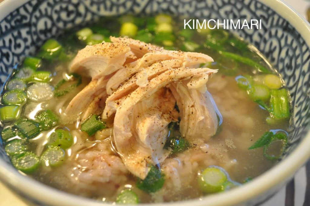 Yeong Gye Baeksuk (Korean Chicken Soup)