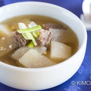 Beef and Radish Soup (Korean Seogogi Mu Guk)