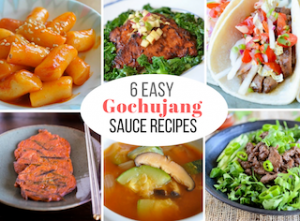 6 EASY Gochujang Sauce Recipes