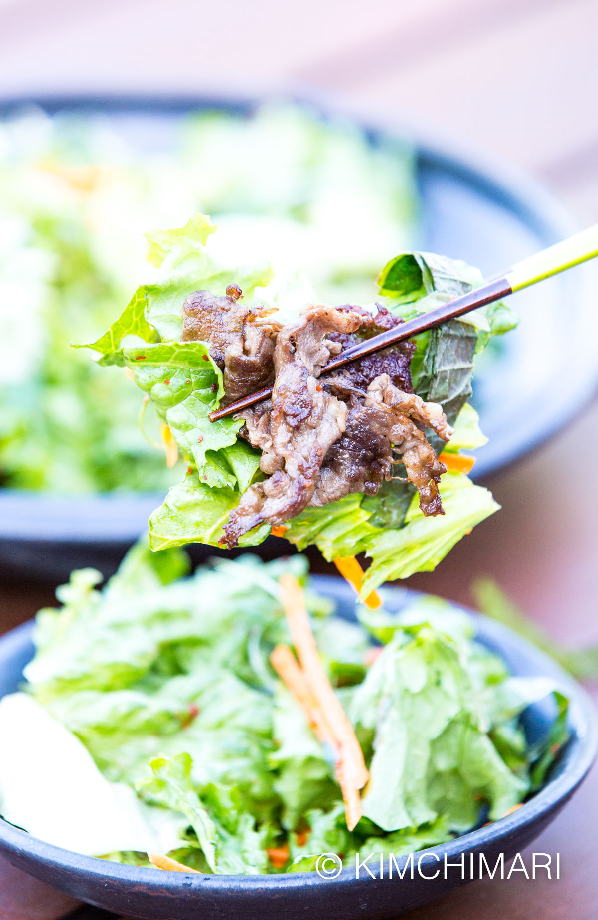 Korean Green Onion Salad (Pa Muchim)