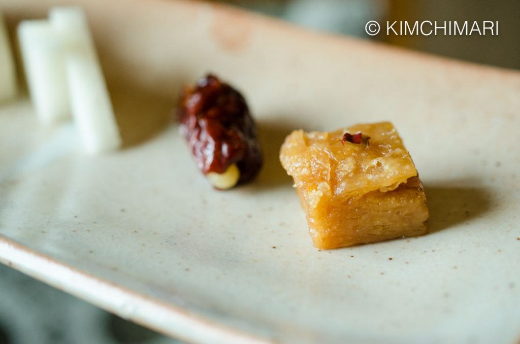 Korean Honey Pastry Dessert Yakwa