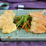 Korean Pan-Fried Fish and Shrimp Jeon
