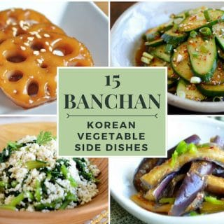 15 Korean Vegetable Side Dishes (Banchan)