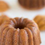 Sweet Rice Mini Bundt Cakes