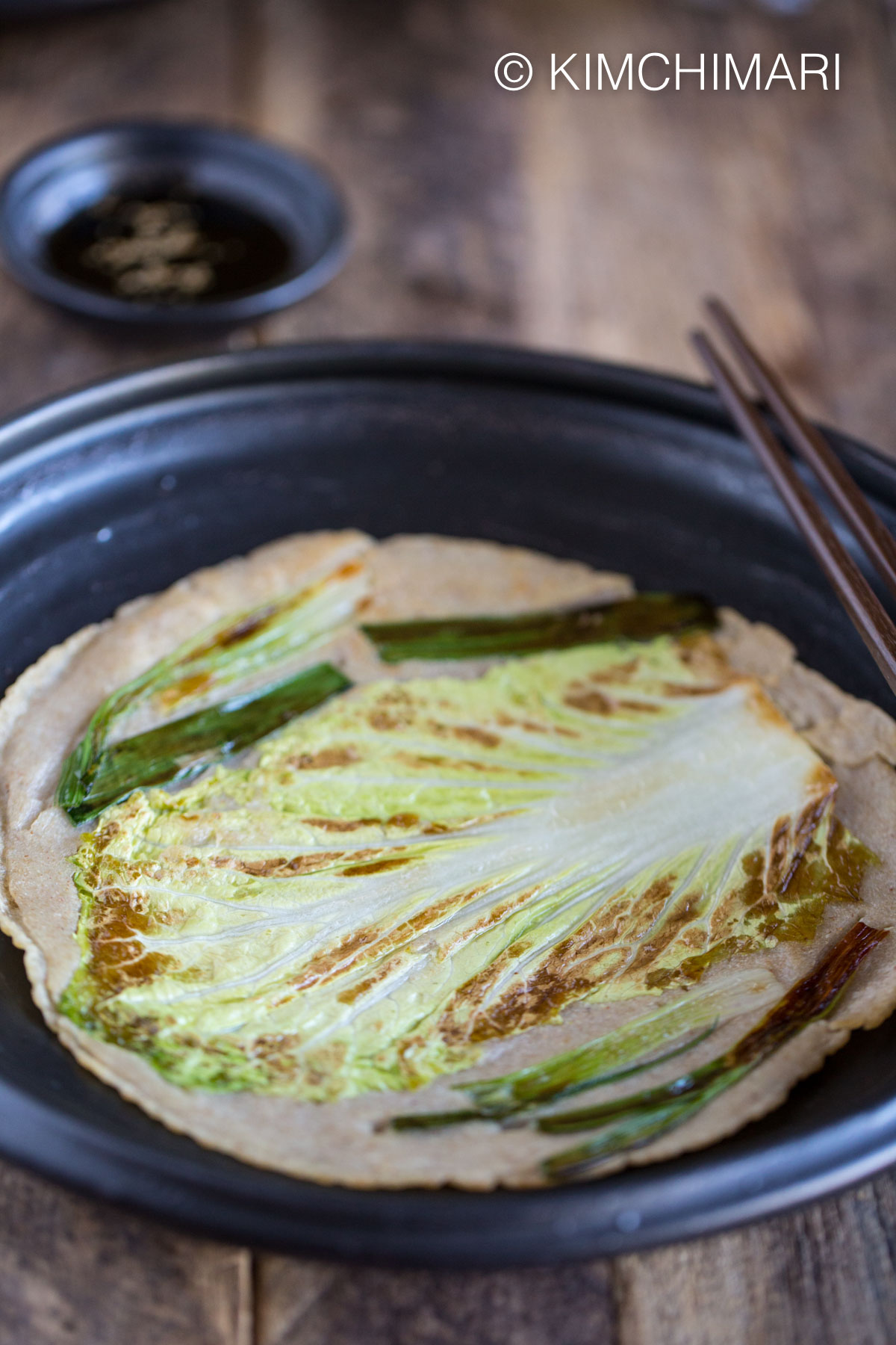 Korean Buckwheat Pancake