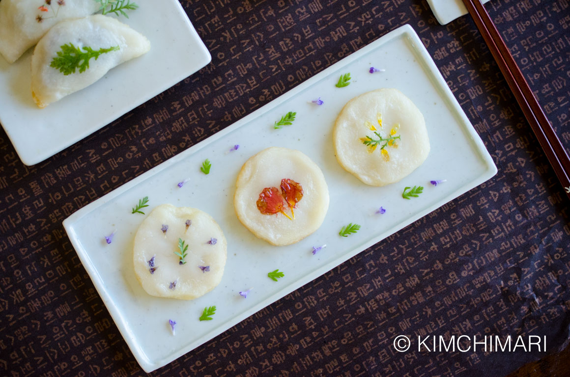 Korean Fresh Flower Rice Pancake