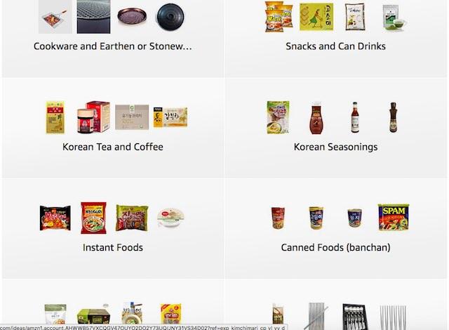 Kimchimari Korean Cooking Store on Amazon