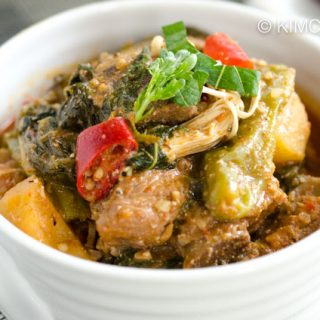Gamjatang (Spicy Pork Bone Stew with Potatoes)