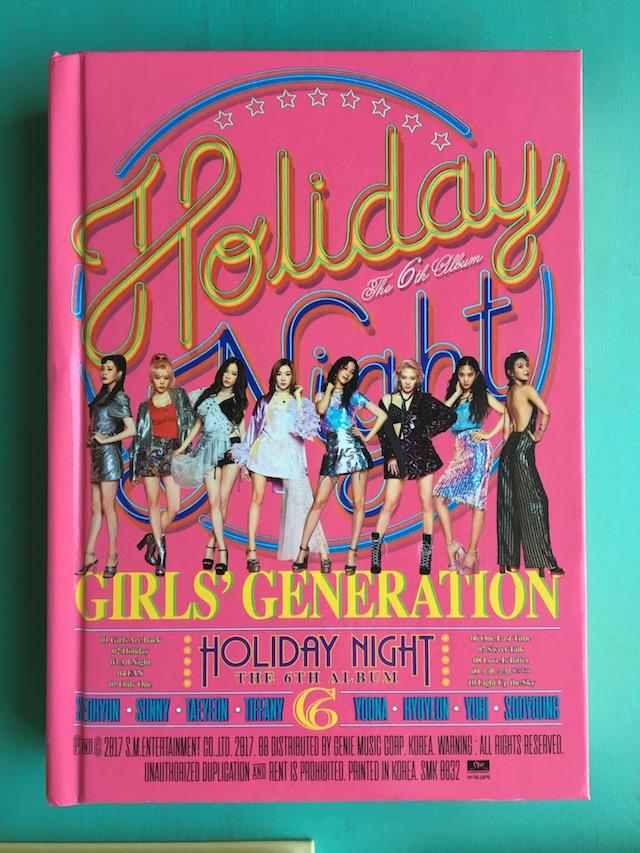 Girls Generation 6th Album cover