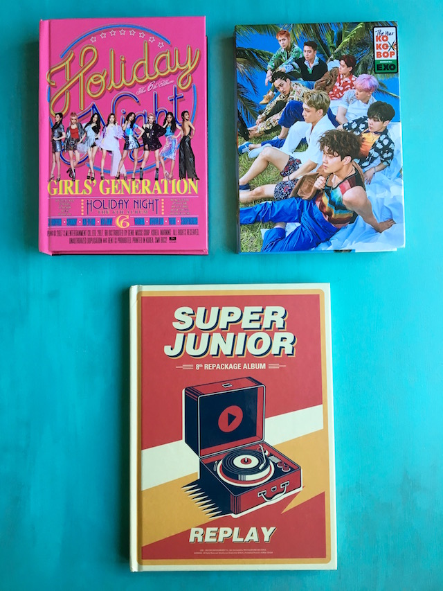3 K-Pop CD Giveaway albums