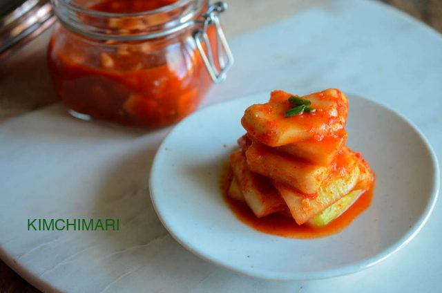 Easy Traditional Radish Kimchi