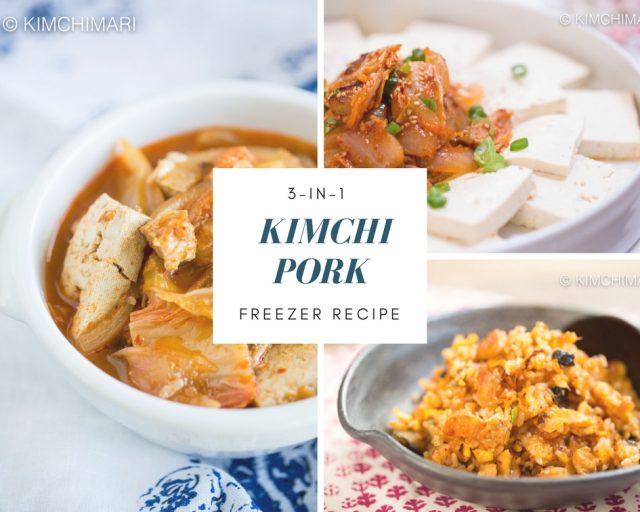 3-in-1 Kimchi Pork Freezer Recipe